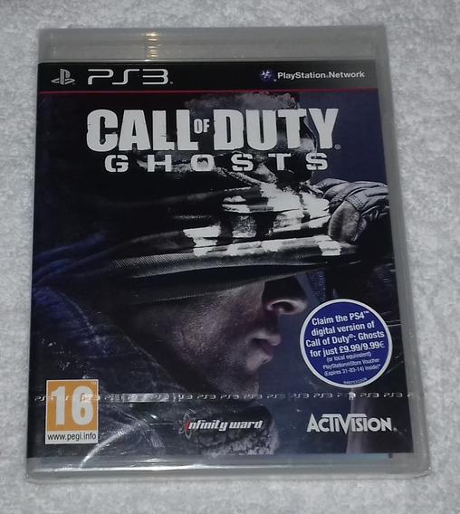 Call Of Duty Ghosts R2 Ps3 Português Lacrado ** Leia