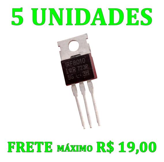 5 Peças Ci Transistor Irf8010 Irf 8010 Original 100v 80a