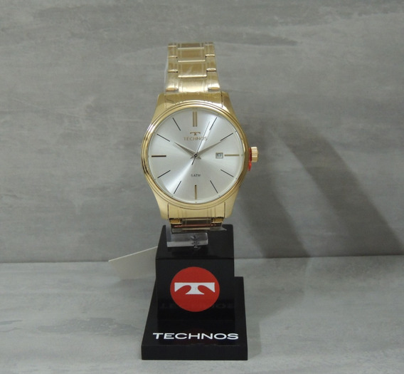 Relógio Technos Masculino 2115mpn/4k Classic Steel - Nfe