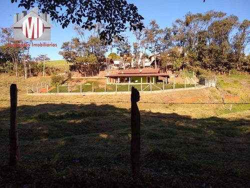 Imagem 1 de 21 de Excelente Chácara Com 2 Dormitórios, Bem Localizada, À Venda, 2000 M² Por R$ 330.000 - Rural - Socorro/sp - Ch0720