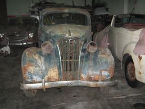 Chevrolet 1937 Dos Puertas Cola De Pato Raro Muy Escasos.
