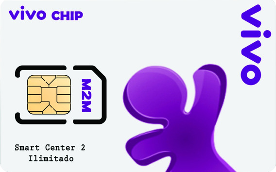 Chip Vivo M2m Central De Rastreamento Mensal Tk103b Tk303