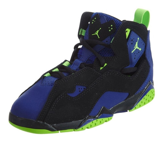Tenis Jordan Niños True Flight Mid Retro 7s Basketball Origi