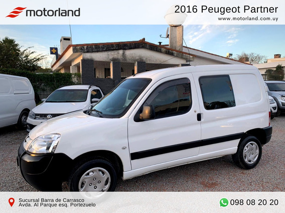 Peugeot Partner 2016 5 Pasajeros. Permuto/financio
