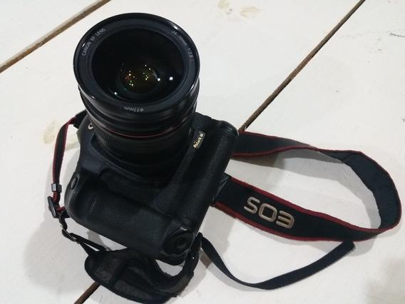 Câmera Canon 1ds Mark Lll Único Dono+ Lente 24-70 2.8 Canon
