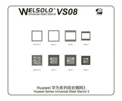 Mechanic Welsolo Vs08 Universal Stencil Bga Reballing