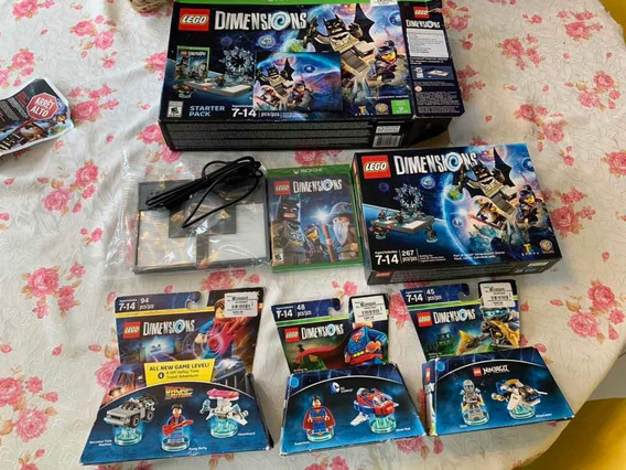 Lego Dimesions Starter Pack Xbox One 2 Packs De Personagens