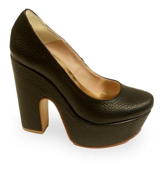 Zapato Oropaco Dama Negro