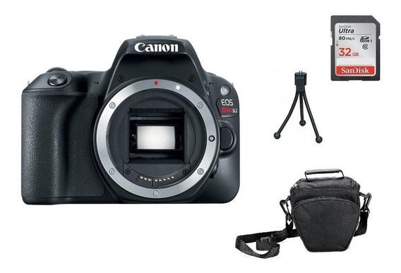 Kit Câmera Canon Sl2 (corpo) Garantia Sem Juros