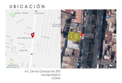 Terreno San Sebastian - Azcapotzalco - 176 M2
