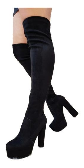 Bucanera Elastizada Zapato Mujer Plataforma