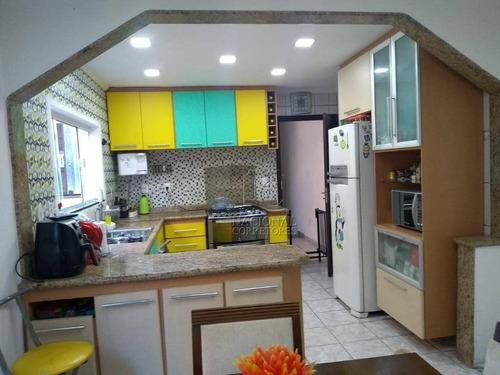 Sobrado Com 4 Dormitórios À Venda, 350 M² Por R$ 650.000 - Jardim Utinga - Santo André/sp - So3608