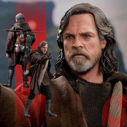 Luke Skywalker Deluxe Star Wars Hot Toys 1/6 List