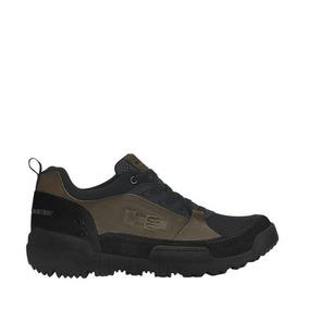 Zapato Hiker Hummer 61dp Verde Militar Original