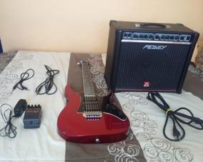 Guitarra Eléctrica Ibanez + Amp 40w Peavey + Boss Metal Zone