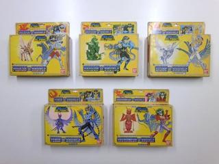 Lote: Santos De Bronce X5 Los Caballeros Del Zodiaco Bandai