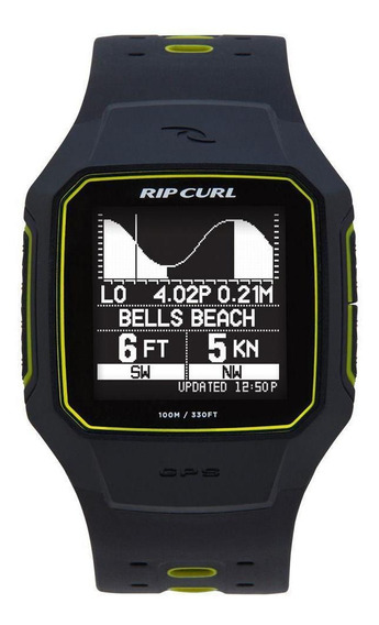 Relógio Digital Ripcurl Search Gps 2 A1144 10 Amarelo Surf
