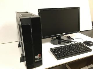Compax Eco Green It,monitor 18.5 In, Teclado,mouse, Win10pro