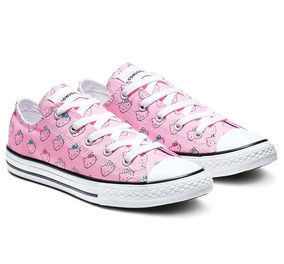 d84549f1a Tenis Converse Hello Kitty Chuck Taylor All Star Prism Niña