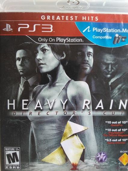 Heavy Rain Ps3 Original , A Pronta Entrega