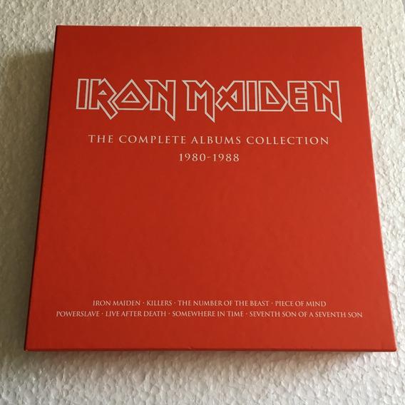 Iron Maiden Box The Complete Albums 1980-1988 2015 Leia