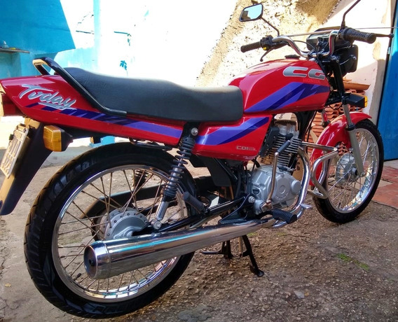 Honda Cg125 1994 Vermelha - Novíssima