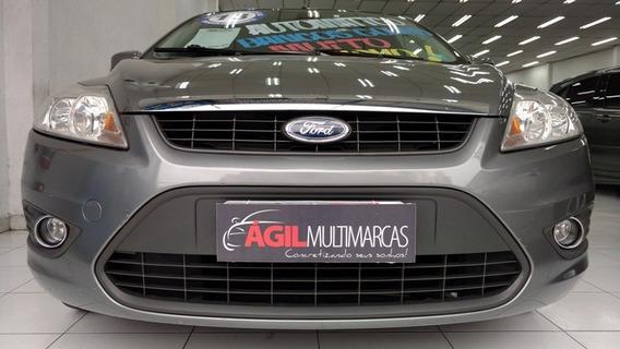 Ford Focus Sedan 2.0 Glx Flex Único Dono 2013 Cinza Aut.