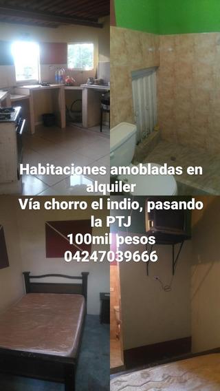 Habitaciones En Alquiler Via Chorro El Indio Pasando La Ptj