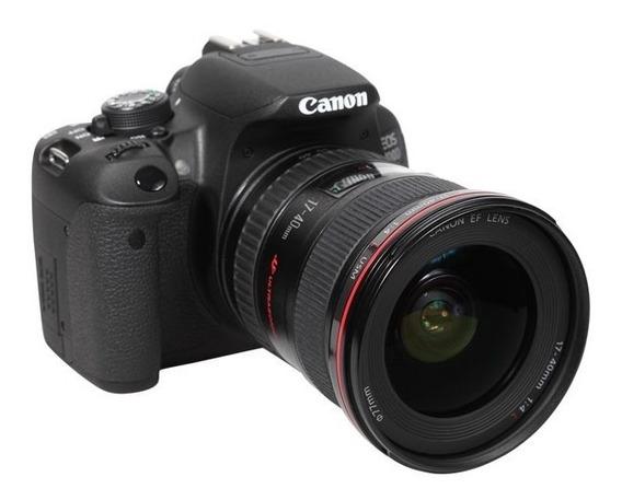 Câmera Digital Canon T5i Dslr Eos Rebel Frete Grátis