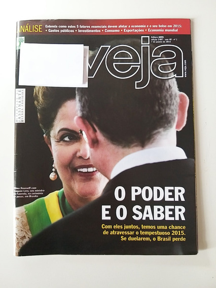 Revista Veja Edição 2407 De 07 De Janeiro De 2015