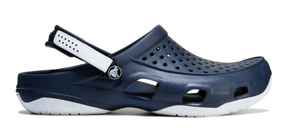 Crocs Swiftwater Navy White O Ideal Para Lazer C Conforto