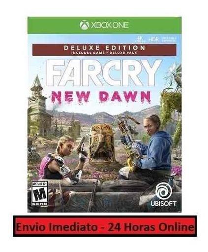 Far Cry New Dawn Jogo + Todo Conteúdo Extra Xbox One Digita