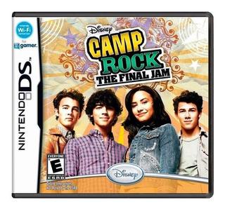 Disney Camp Rock The Final Jam Ds Mídia Física Novo Lacrado
