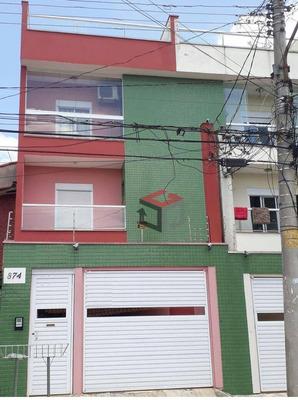 Cobertura Residencial À Venda, Vila Pires, Santo André. - Co50684