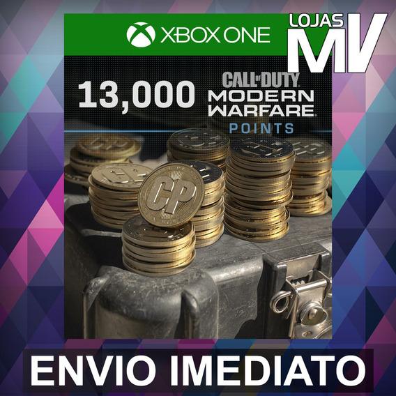 13000 Coins Call Of Duty Modern Warfare 25 Dígitos Xbox One