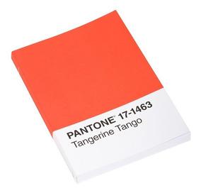 Libreta Pantone Tangerine Tango Hojas Rayadas 2011-043