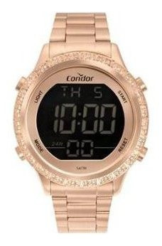 Relógio Condor Digital Feminino Rose Cobj... - Cobj3463ak/4j