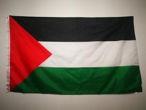 Imagen 1 de 3 de Bandera De Palestina 90x150 Cm