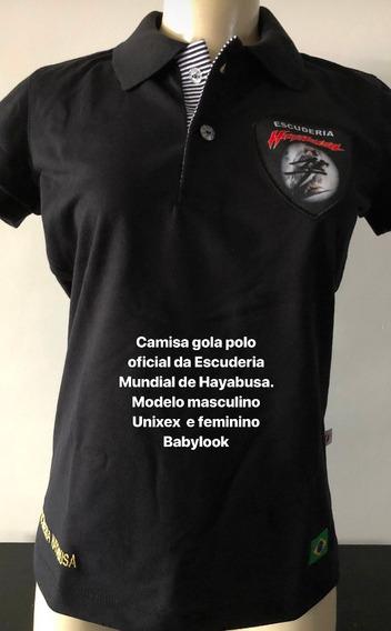 Camisa Gola Polo Feminino Babylook Hayabusa