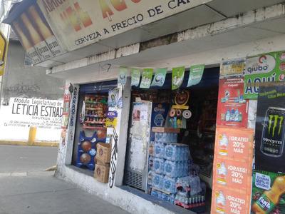 Tienda De Abarrotes En Traspaso Sobre Avenida Principal