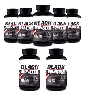 Tribulus Terrestris Black Monster Com Maca Importado - 7unid