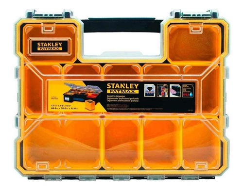 Caixa Organizadora Stanley Fatmax C/ 10 Divisórias Fmst14820