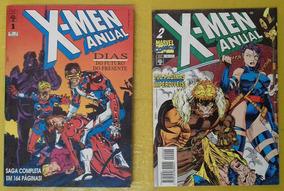 X-men Anual - Nº 1 E 2 - Ed. Abril /gibi Quad Rev