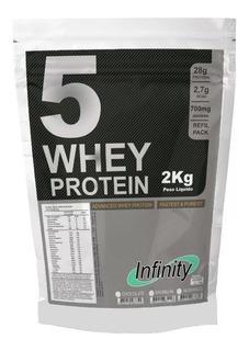 5w Whey 2kg (5 Unidades) 100% Wey Way 3w Isolado Titanium