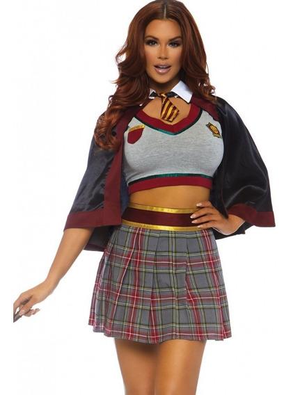 Disfraz De Mujer Hechicera De Escuela