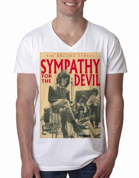 Remera Rolling Stones Sympathy Devil Hombre Purple Chick