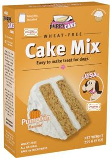 Mezcla Para Pastel Puppy Cake Para Perros. Sabor Calabaza