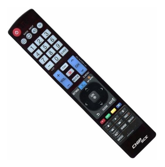 Controle Universal Tv LG Smartv Akb73615319 + Pilhas Grátis