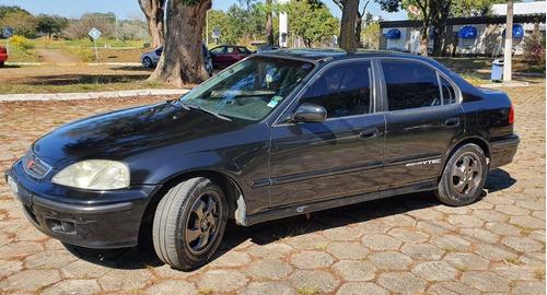 Imagem 1 de 15 de Honda Civic Ex 1999 At