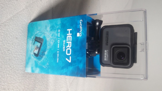 Camera Gopro Hero 7 Silver Nova, Sem Uso!